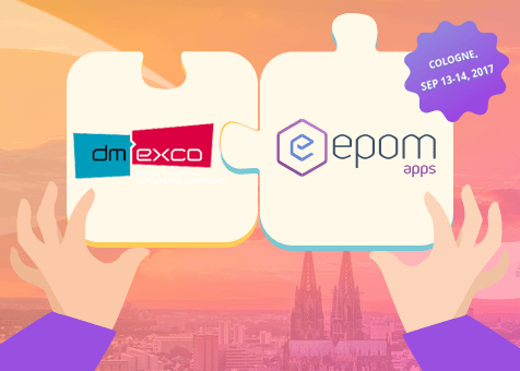 Meet Epom Apps at DMEXCO 2017